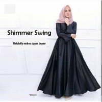 shimmer swing / grosir fashion online / olshop baju wanita dress