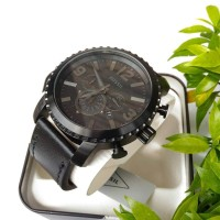 Jam Fossil BQ1711 Gage Chronograph Black Watch Original