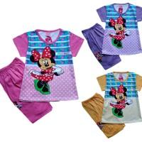 Baju Kaos Atasan T-Shirt Setelan Murah Anak Mini MN110517
