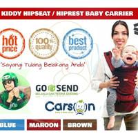 Kiddy Gendongan Hiprest / Hipseat Baby Carrier 2in1