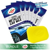 Turtle Wax [BUNDLE] 6 x Metallic Sachet 50 mL + FREE SPON PAD