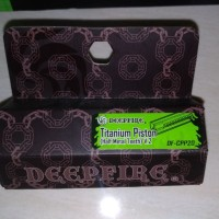 Deep Fire Titanium Piston Ver. 2 Gearbox (Half Teeth