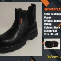 Sepatu Safety Kulit Murah Semi Boot Elastici KS729X SNI Surabaya