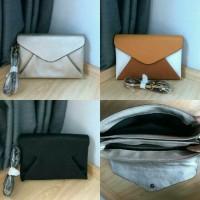 ZARA Envelope Clutch Crossbody Bag / Tas Wanita Branded Ori Murah