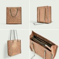 ZARA Mini Tote Bag / Tas Wanita Branded Ori Murah