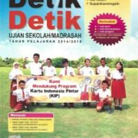 Buku Detik Detik UN SD/MI 2018 Persiapan UJIAN usbn unbk kisi kelas 6