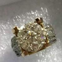 Cincin Berlian Simulant - Stellar Ring
