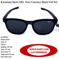 Kacamata Sport OKL New Currency Full Set black