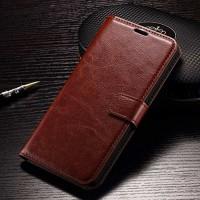 FLIP COVER WALLET Asus Zenfone 3 Zoom S ZE553KL case casing hp leather