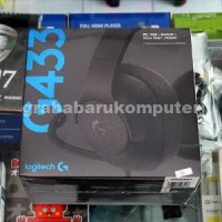 Logitech G433 Black Surround Gaming Headset PC PS4 XBOX DISKON