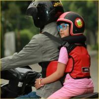 Sabuk Bonceng Motor Anak Safety Apro Multi Fungsi - Merah