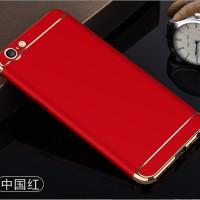 Case OPPO F3 goldie bright warna red keren bagus cover hp premium