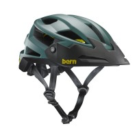 Helm Sepeda Bern FL-1 XC Mips - Matte Hunter Green