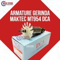 Armature Gerinda / Gurinda Tangan Listrik Maktec MT954 Merk DCA Murmer