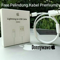Original Kabel Data Lightning Iphone 5 s / New Ipad / Ipod Touch