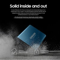 Samsung SSD External Portable VNand USB 3.1 T5 250GB upto 540 MBps