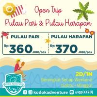 Open Trip Pulau Pari dan Pulau Harapan - Setiap Minggu