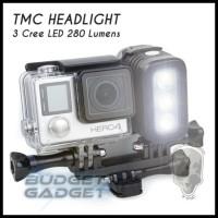 CUCI GUDANG TMC CAMERA HEADLIGHT/LAMPU/FLASH FOR GOPRO, XIAOMI YI !!!!