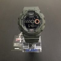 Casio Gshock GD 100MS-3 Military Series