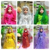 boneka barbie pivotal barbie muslim murah mata 3 dimensi 3d eyes
