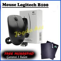 Mouse Logitech + Free Mousepad Logitech