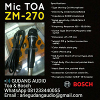 Microphone TOA type ZM-270