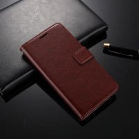 LEATHER FLIP COVER WALLET XIaomi Mi6 Mi 6 case casing hp dompet kulit