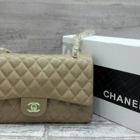 Chanel Maxi Sling Bag / Tas Selempang Pesta / Slingbag Murah