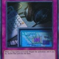 Yugioh Wiretap - DRL3-EN054 - Ultra Rare 1st Edition