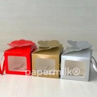 BXH 15.13 E-Gift 2 Mika, Kotak Lipat Dgn Tali Utk 2 Toples Kue Kering