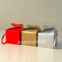 BXH 15.13, Kotak Lipat Dengan Tali Untuk 2 Toples Kue Kering 500 Gram