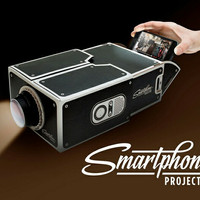 smartphone projector mini portable proyektor hp buat nonton cardboard