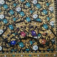 kain batik prada bunga seroja