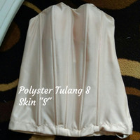 "Bustier Polyster Tulang 8 ""Skin S"" - Ready Stock Promo"