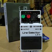 Pedal Efek Boss Line Selector LS-2