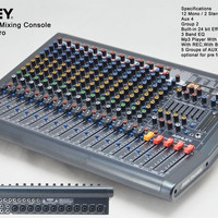 mixer Audio Proffesional ASHLEY M-16PRO 16 mono -4 Stereo(16 channel)