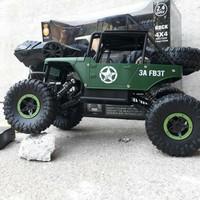Mobil Rock Crawler Jeep / RC Car Jeep Rock Crawler / Remote Control