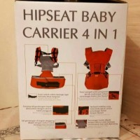 hiprest hipseat kiddy baby carrier 4 in 1 gendongan bayi pinggang