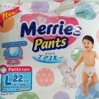 Merries Premium Pants L 22 L22 / popok / diaper