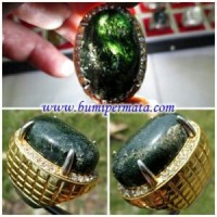 Batu cincin akik lumut suliki