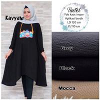 baju wanita blouse kaos tustel remaja muslim lucu unik modern trendi