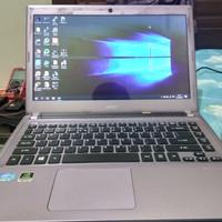 laptop notebook slim acer v5 471g core i3 murah bagus