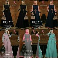 gamis maxi dress longdress hijab muslim baju pesta busui ibu menyusui