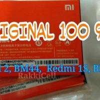 100% ORIGINAL Baterai Batery Xiaomi Redmi 2 /2S / 1S BM44 BM41 BM 44