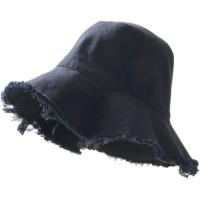 Termurah Topi Musim Panas Wanita  Pria Black