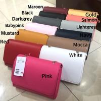 Tas branded wanita pesta murah supplier HnM mini clutch hadiah unik