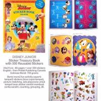 Sticker Book Treasury DISNEY JUNIOR with Over 350 Reusable Sticker