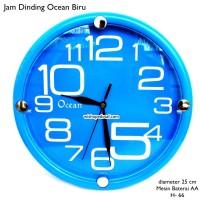 Jam Dinding Rumah Ocean BIRU