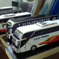 miniatur bus laju prima shd