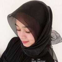 Kerudung / Jilbab Organza / TM-360/ Pashmina / Instan / Segiempat